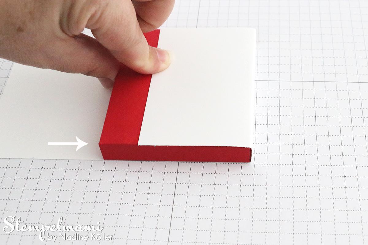 stampin up anleitung tutorial shadow box stempelmami rahmen box ...