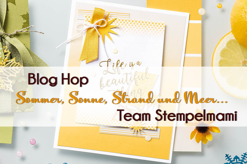 Stampin' Up! Blog Hop Team Stempelmami