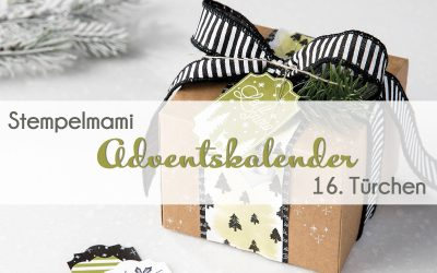 Stampin' Up! Adventskalender – 16. Türchen