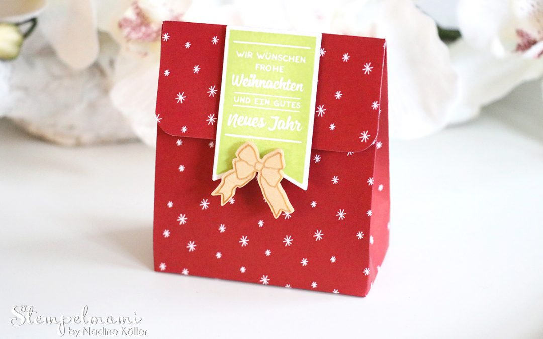 Stampin' Up! Anleitung Tutorial One Sheet Box