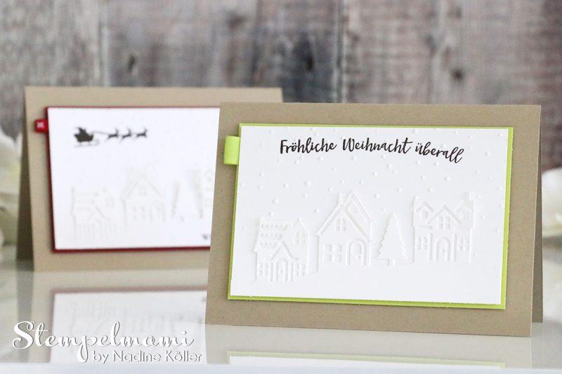 stampin up weihnachtskarte weihnachten daheim stempelmami 1
