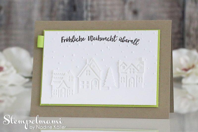 stampin up weihnachtskarte weihnachten daheim stempelmami 2