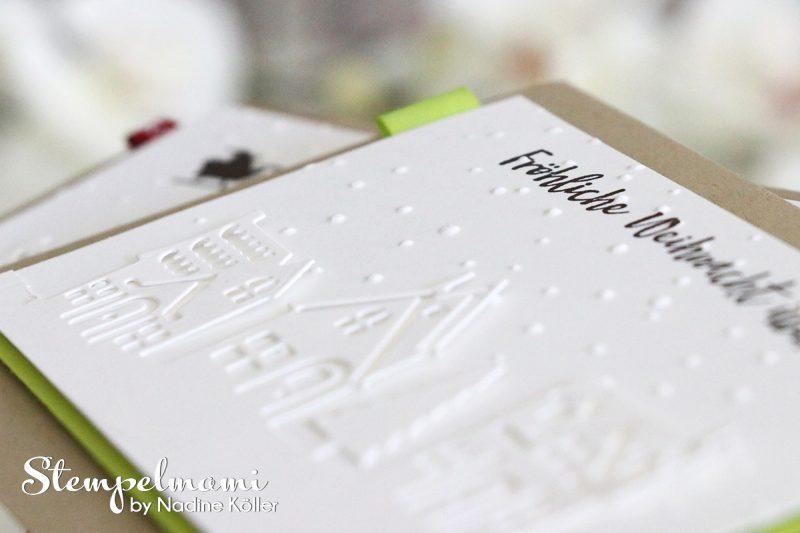 stampin up weihnachtskarte weihnachten daheim stempelmami
