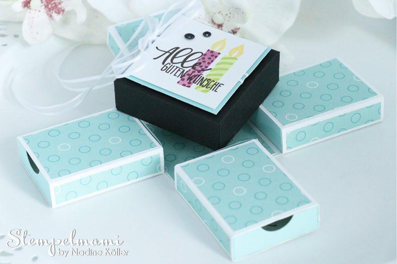 stampin up explosion gift box verpackung perfekter geburtstag perfekte party stempelmami 3