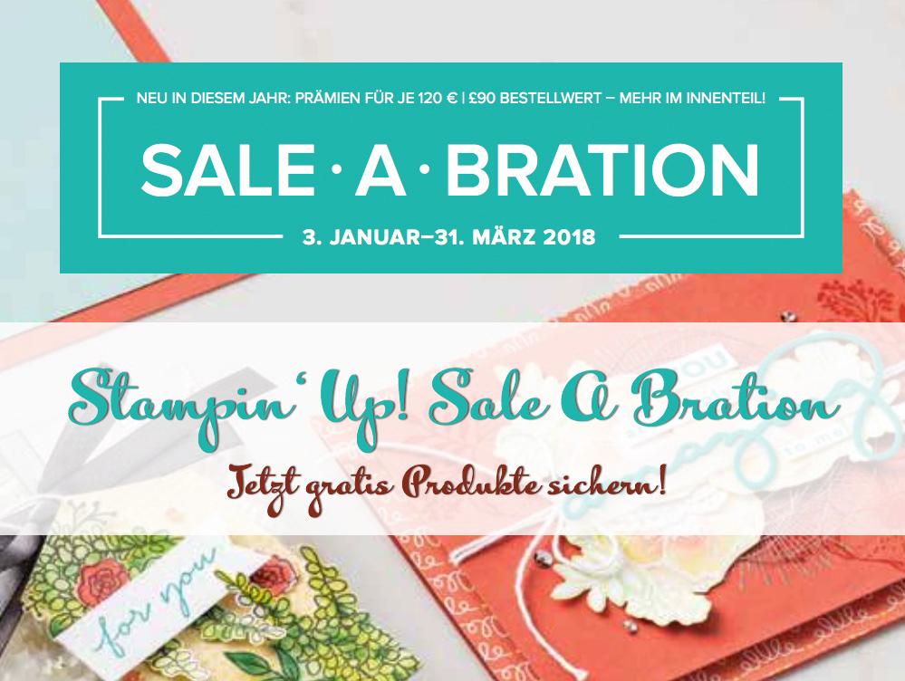stampin up sale a bration 2018 stempelmami
