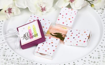 Stampin' Up! Anleitung Tutorial Explosion Gift Box