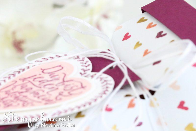 stampin up knallbonbon box valentinstag valentin gemalt mit liebe geschenk stempelmami 1