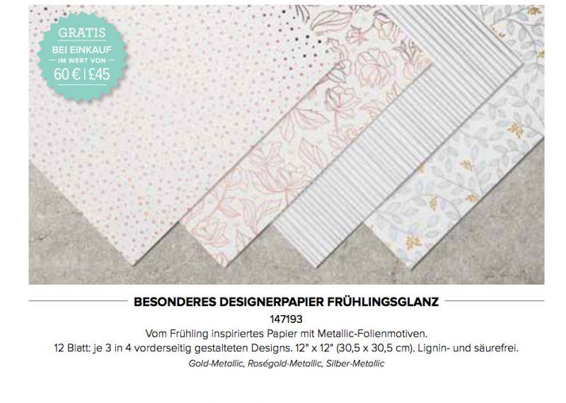 stampin up sale a bration 2018 designerpapier fruehlingsglanz stempelmami