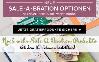 Sale A Bration 2018 – Neue Produkte