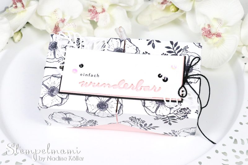 stampin up einfach wunderbar sale a bration double flip box stamp to share blog hop stempelmami 3