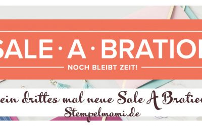 Noch mehr neue Produkte zur Sale A Bration