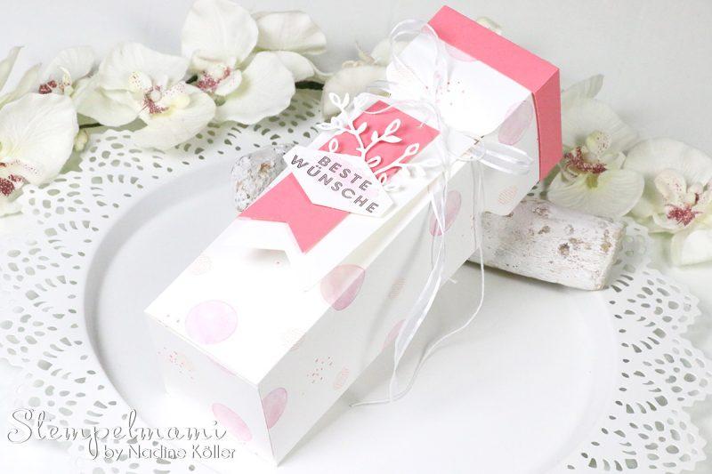 stampin up tutorial anleitung knallbonbon box envelope punch board stanz und falzbrett video youtube stempelmami 2