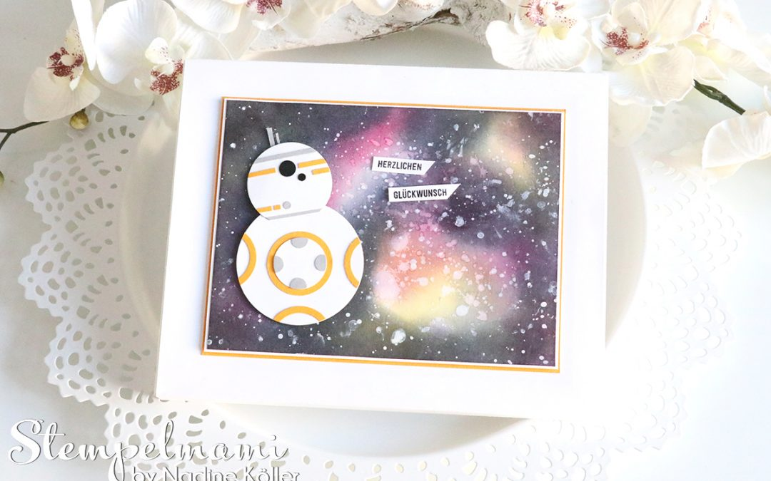 BB8 Star Wars Shadow Box
