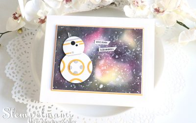 BB8 Star Wars Shadow Box