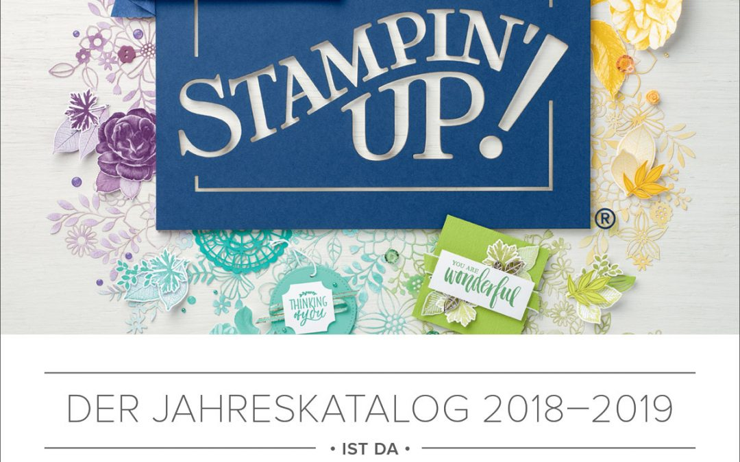 stampin up jahreskatalog 2018 bis 2019 stempelmami 1