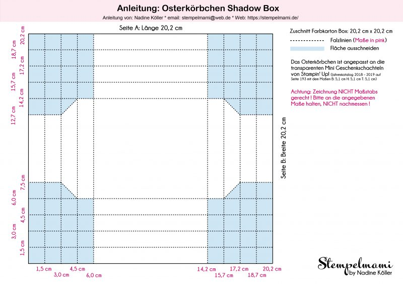 Stampin Up Anleitung Osterkoerbchen Shadow Box Stempelmami Video Anleitung Osterkoerbchen Osterkorb Easter Basket Youtube