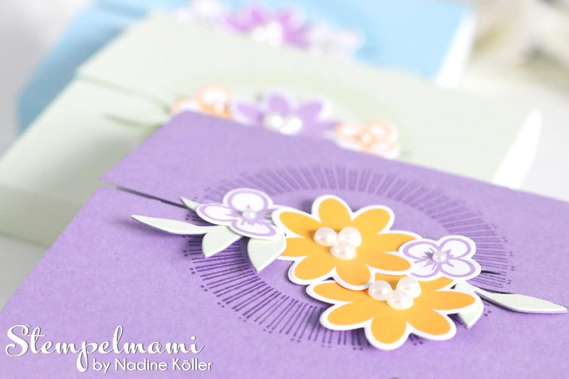 stampin up box bouquet blooms blog hop stempelmami 1