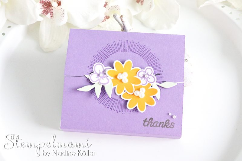 stampin up box bouquet blooms blog hop stempelmami 2
