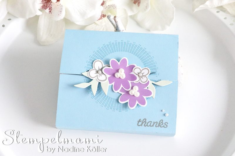 stampin up box bouquet blooms b