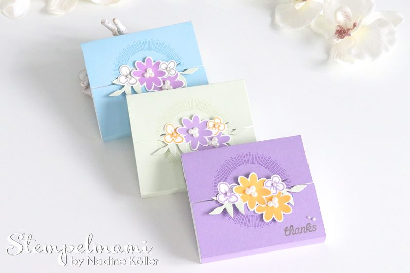 stampin up box bouquet blooms blog hop stempelmami