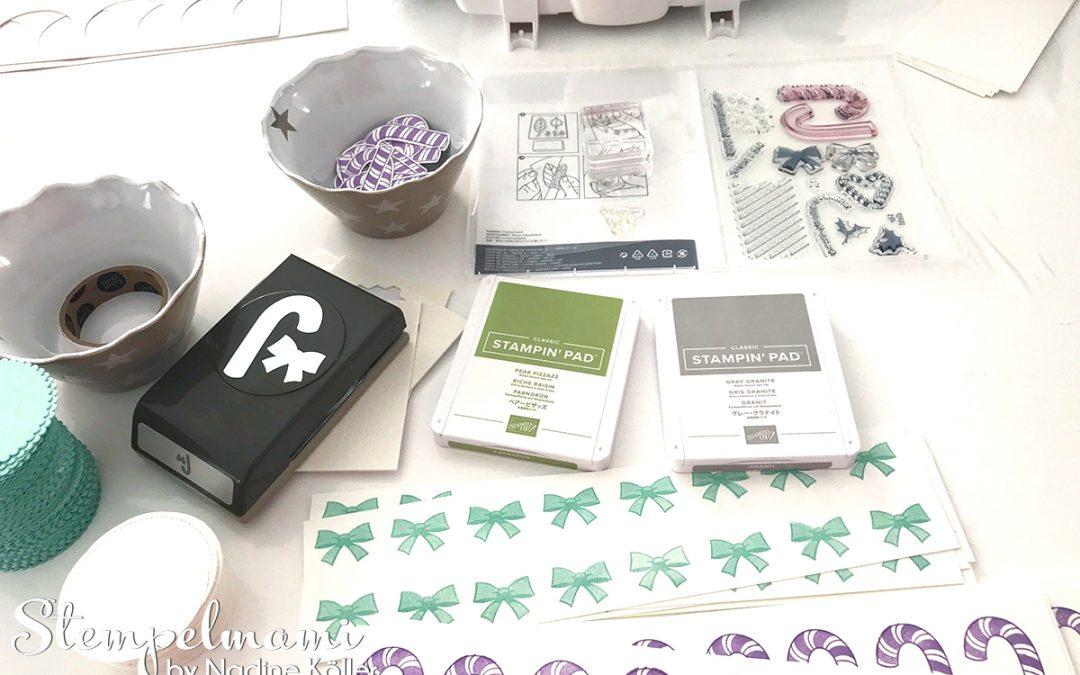 Stampin' Up! Katalogversand Vorbereitung