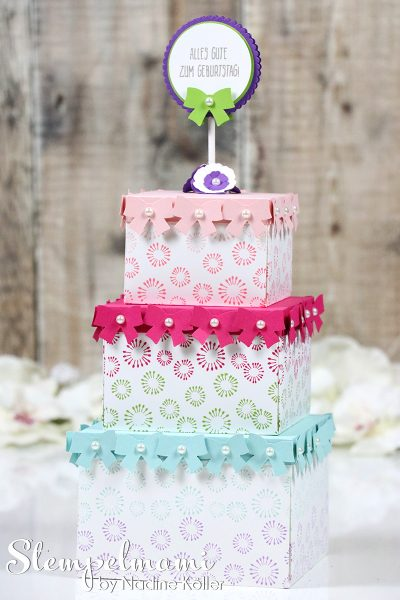 stampin up geburtstagsparty torte inspiration art blog hop stempelmami 3