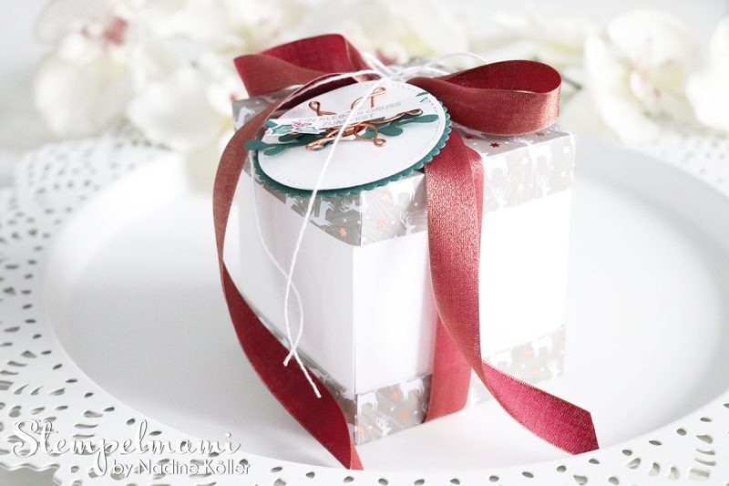 stampin up weihnachten geschenk box stamp to share besinnlicher advent stempelmami 1