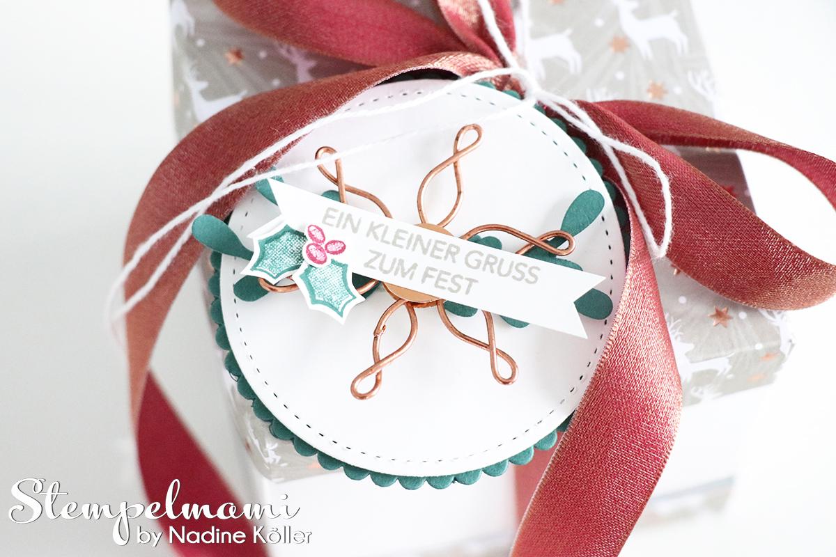 stampin up weihnachten geschenk box stamp to share besinnlicher ...