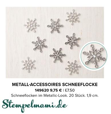 stampin up aktion flockengestoeber metall accessoires schneeflocke stempelmami 1