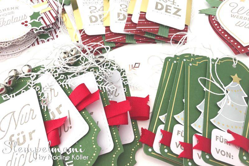 weihnachtskarten aller geschenke anhang basteln mit. Black Bedroom Furniture Sets. Home Design Ideas