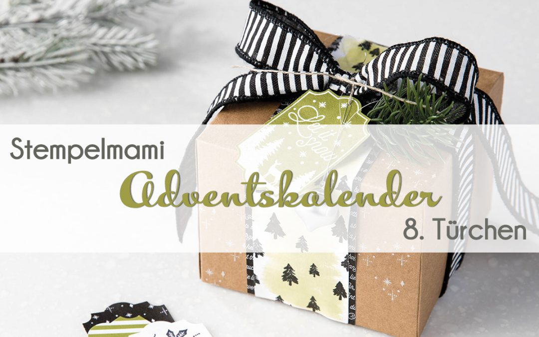 stampin up adventskalender tuer 8 stempelmami