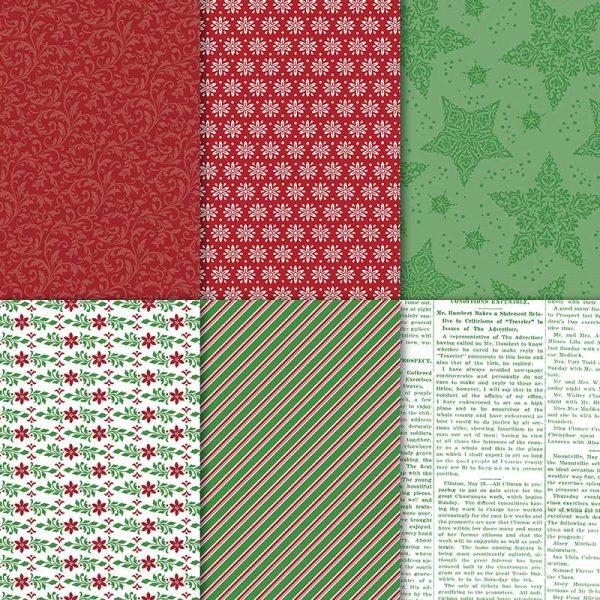 stampin up designerpapier elegante weihanchten 149903