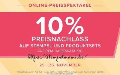 Stampin Up Online Preisspektakel Runde 2