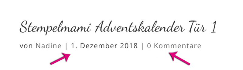 stampin up adventskalender tuer 1 stempelmami