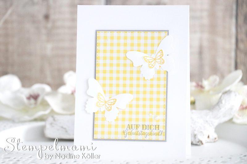 stampin up geburtstagskarte schmetterlingsglueck stempelmami karte geburtstag birthday card 1