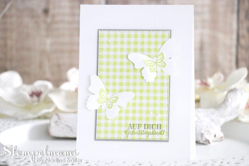 stampin up geburtstagskarte schmetterlingsglueck stempelmami karte geburtstag birthday card 3