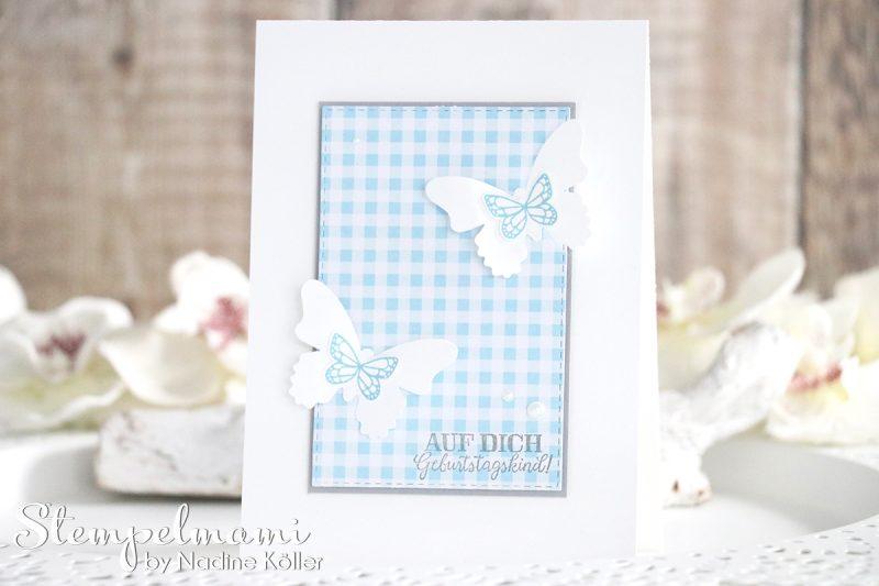 stampin up geburtstagskarte schmetterlingsglueck stempelmami karte geburtstag birthday card 4