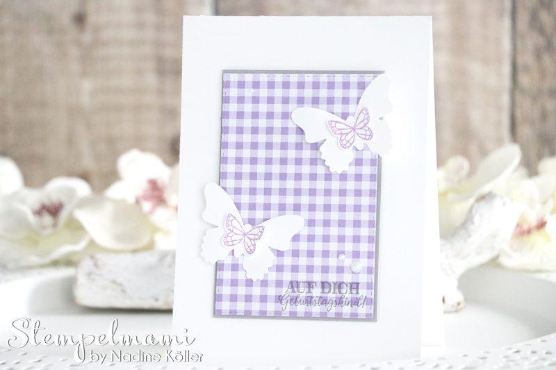 stampin up geburtstagskarte schmetterlingsglueck stempelmami karte geburtstag birthday card 5