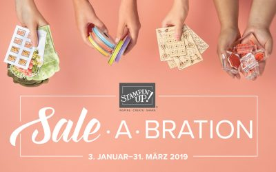 Stampin' Up! Sale A Bration Aktion 2019