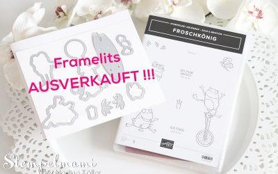 Framelits Froschkönig ausverkauft!