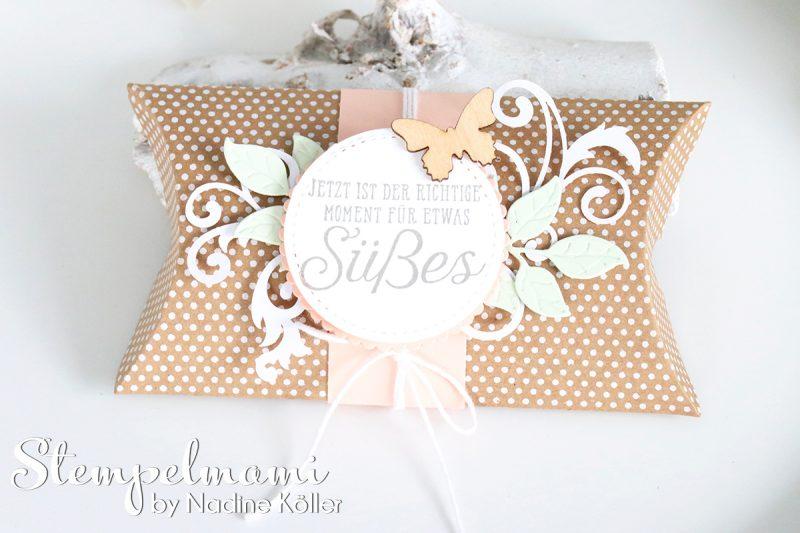 stampin up sandfarbene kissenschachtel pillow box wortreich stempelmami laser designerpapier 2
