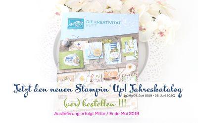 Jetzt den neuen Stampin' Up! Jahreskatalog (vor)bestellen!