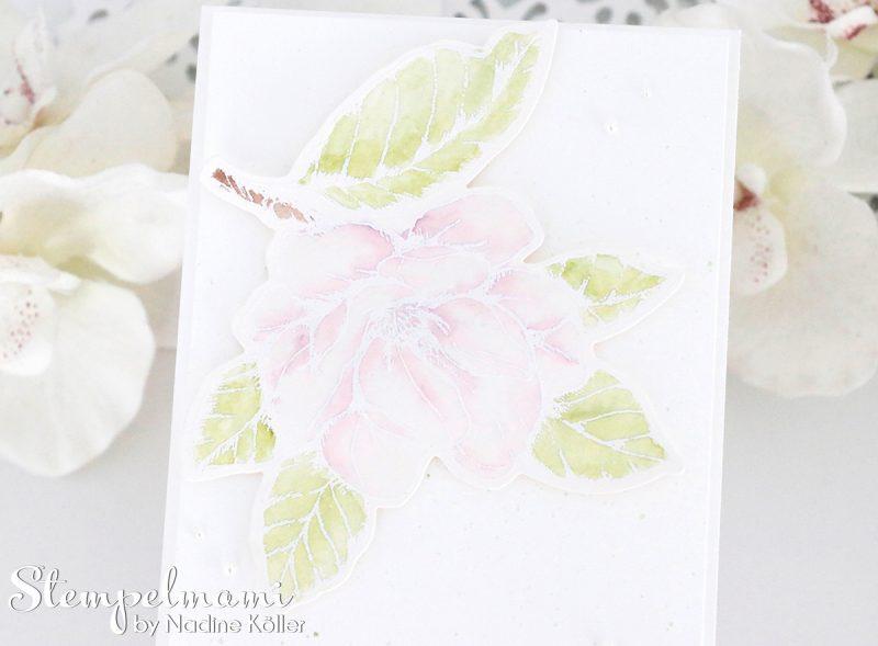 stampin up grusskarte magnoliengruss embossing aquarel karte stempelmami 1