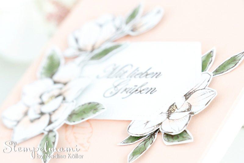 stampin up grusskarte mit magnoliengruss stempelmami 2