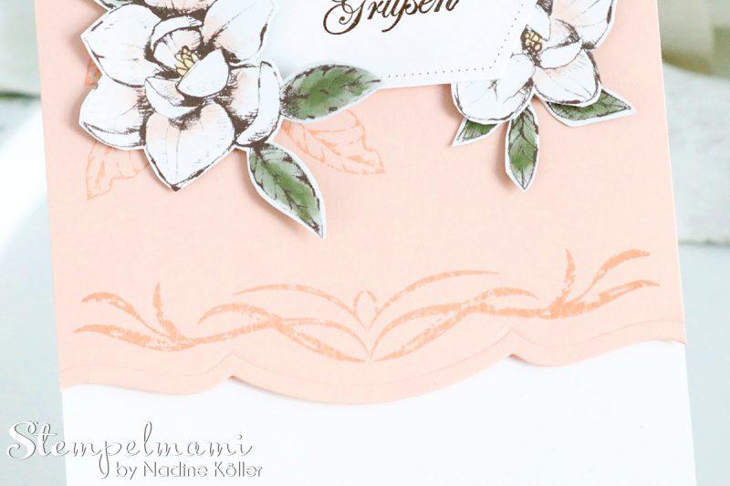 stampin up grusskarte mit magnoliengruss stempelmami 3