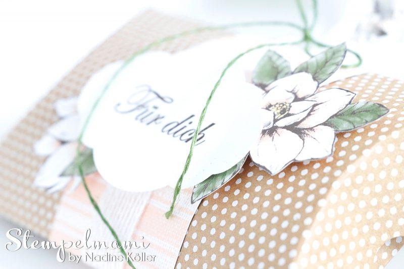 stampin up pillow box kissenschachtel magnoliengruss stempelmami 2