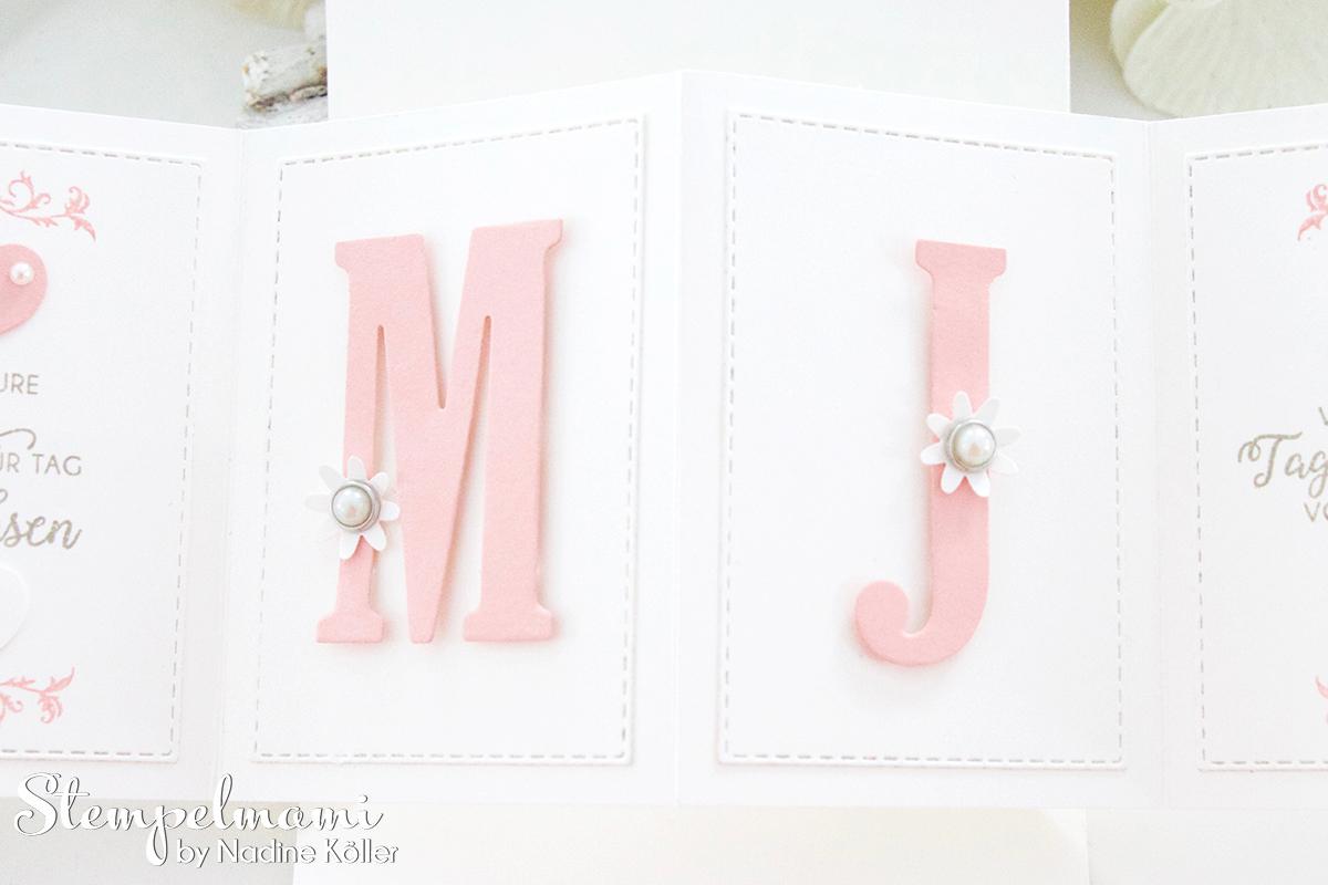 Stampin Up-Hochzeitskarte-Produktpaket Gewebte Worte-Portraetrahmen-Pop Up Panel Karte-Stempelmami 2