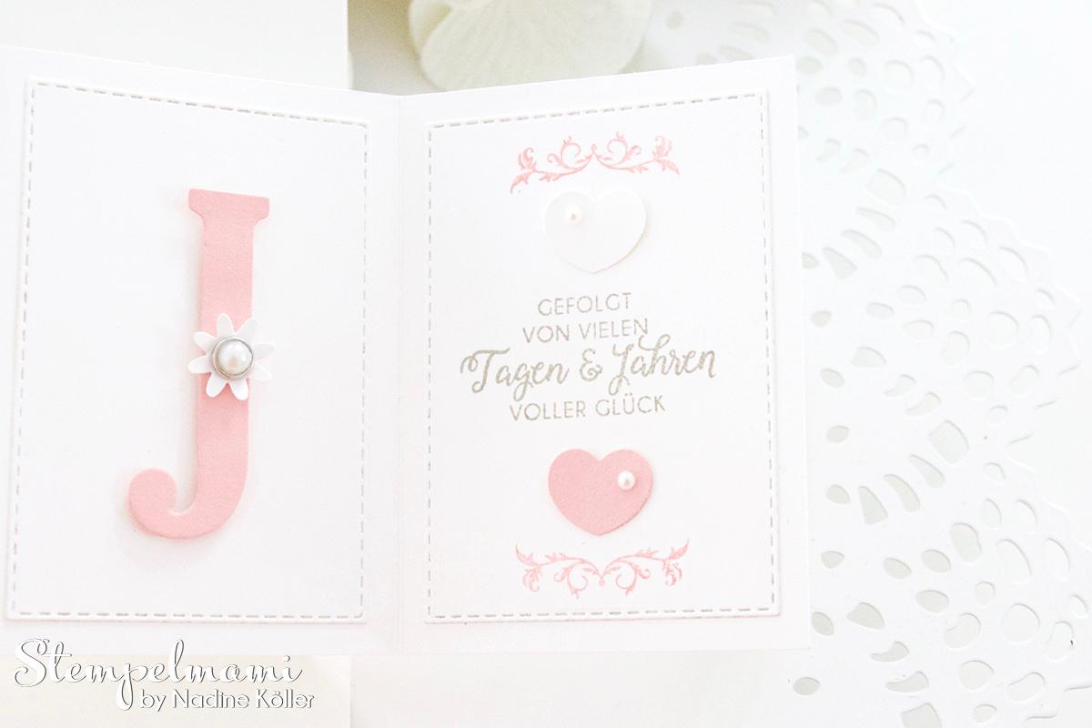 Stampin Up-Hochzeitskarte-Produktpaket Gewebte Worte-Portraetrahmen-Pop Up Panel Karte-Stempelmami 3