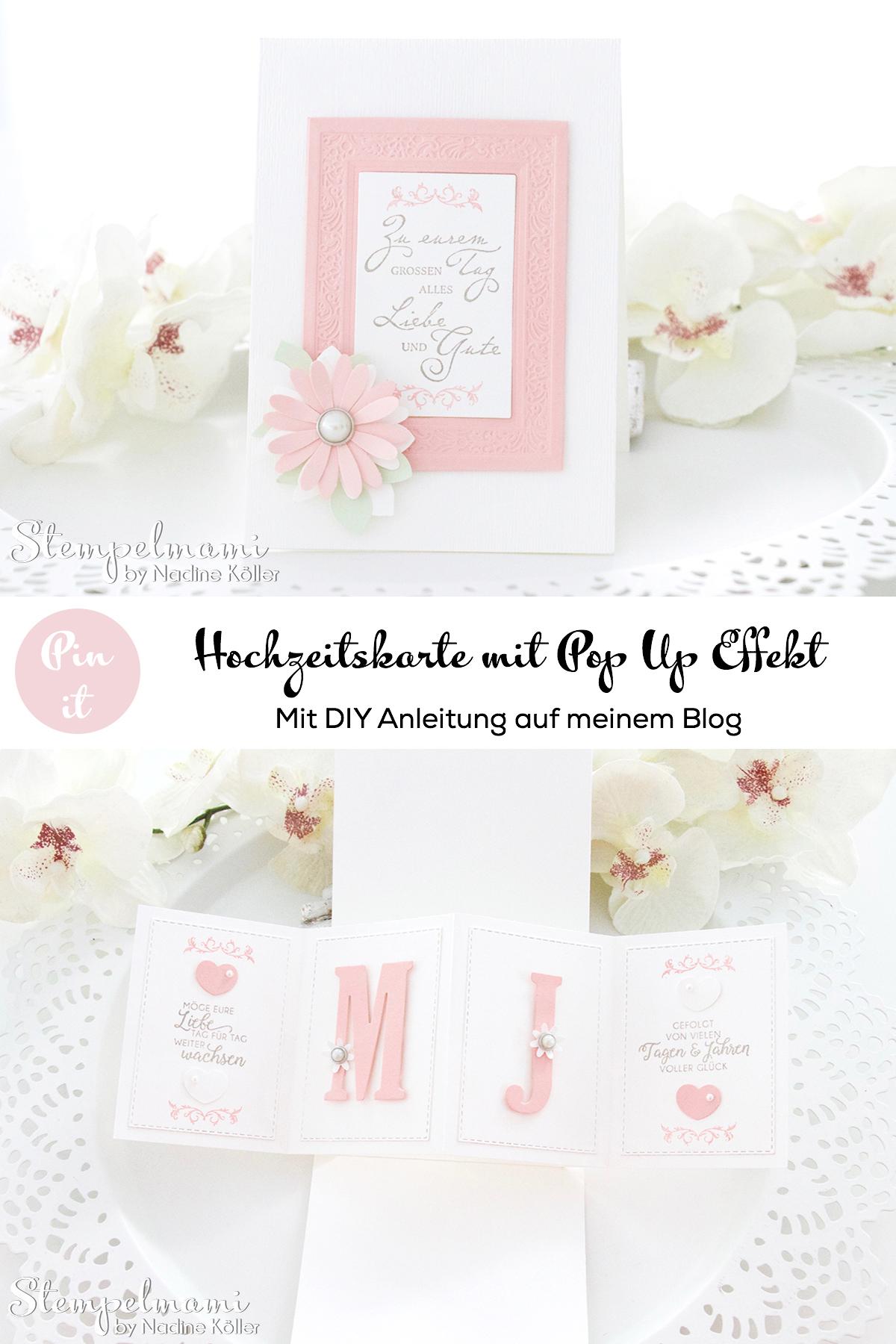 Stampin Up-Hochzeitskarte-Produktpaket Gewebte Worte-Portraetrahmen-Pop Up Panel Karte-Stempelmami 7
