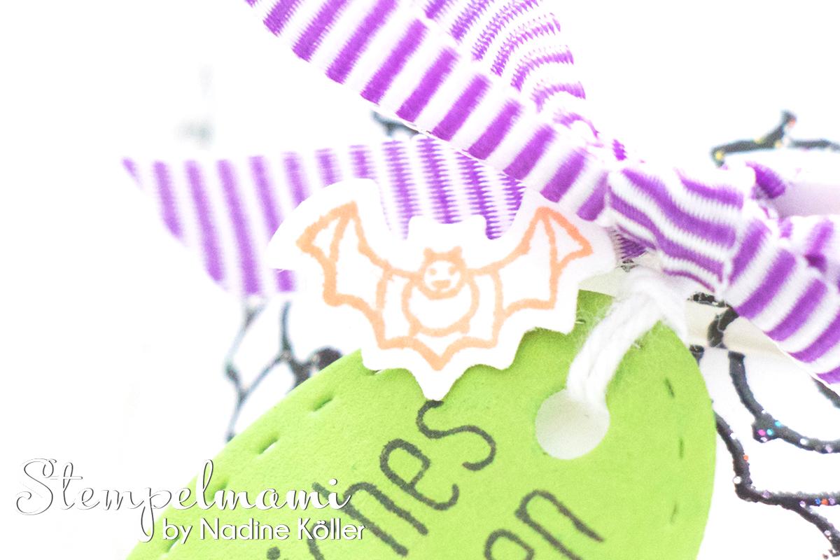 stampin up mini zierschachtel halloween herbst und winter goodie mitgebsel schimmerschwarz stempelmami 1